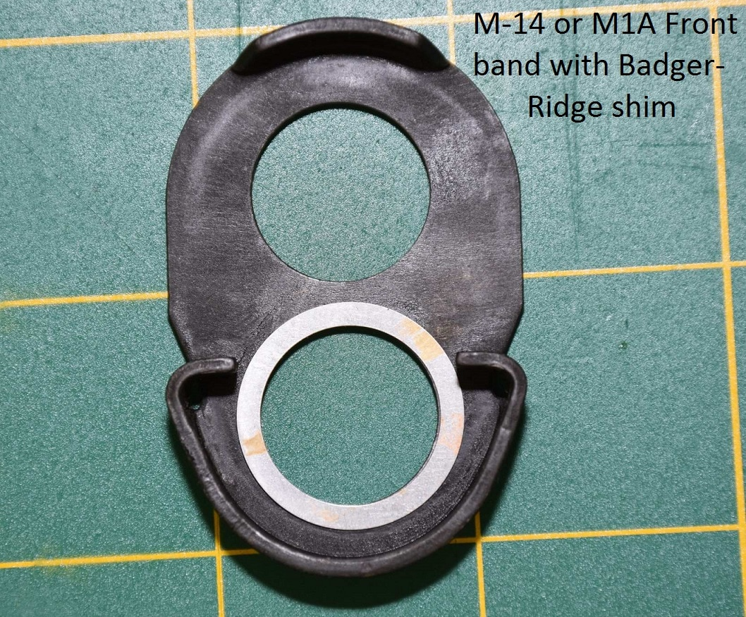 Shim for m-14 M1A barrel band
