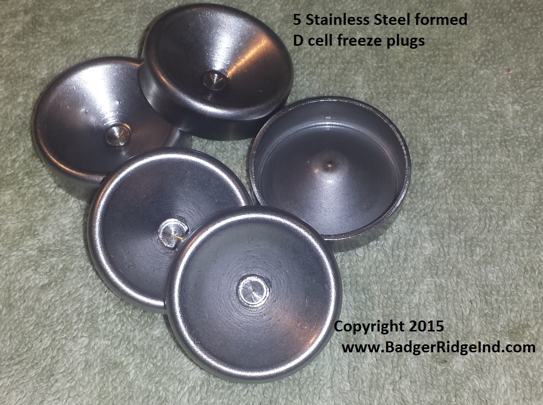 Formed D Cell Stainless Plug Made In Usa